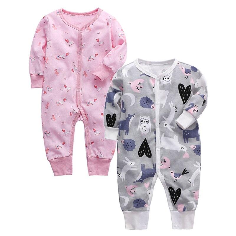 Baby Pajama Toddler Sleep Play Newborn Sleeper 3 6 9 12 18 24 Months Cotton Kids Sleepwear