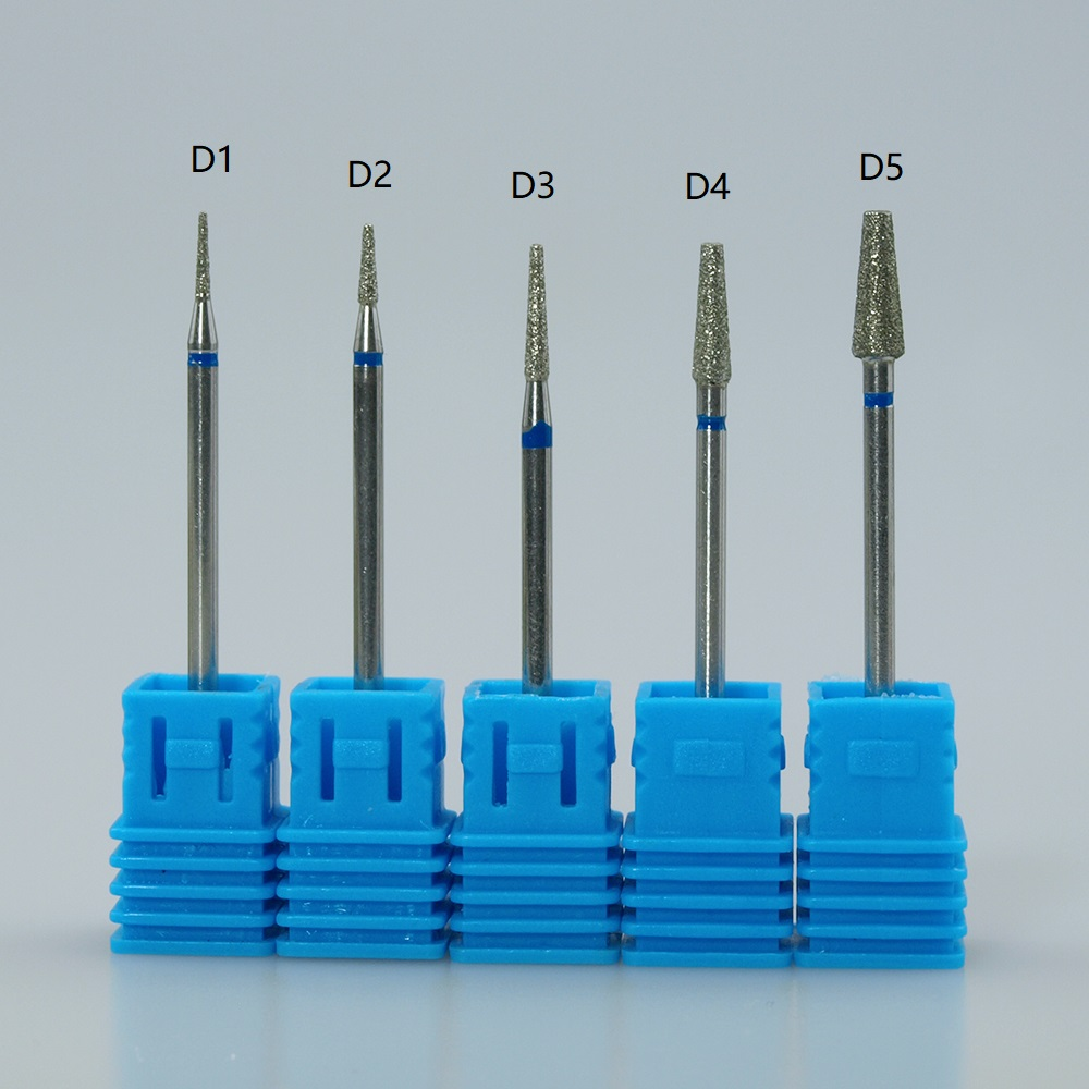 Easy Nail 1Pc Nail Drill Bits Diamond Grinding File For Electric Machine Pedicure Manicure Nail Art Tool