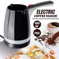 Becornce 1000W dzbanek do kawy elektryczny turecki ekspres do kawy turecki styl o dużej pojemności szybkie ciepło kawy podejmowania domowego biura|Ekspresy do kawy|   -