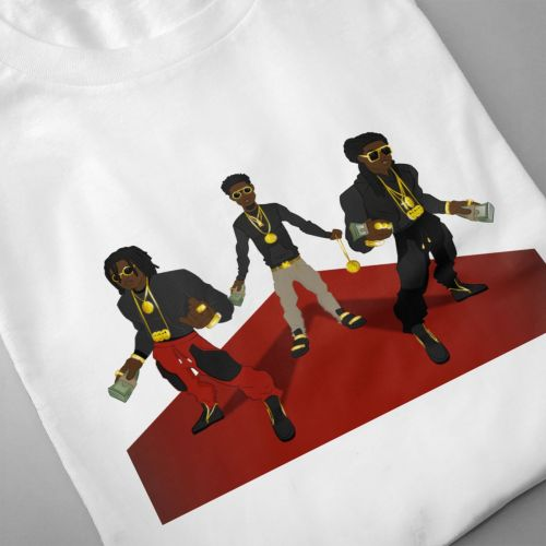 Hip Hop Streetwear Man Migos T Shirt Summer Breathable Casual Tees Unique Design T shirt O neck Big Size Camiseta in T Shirts from Men 39 s Clothing