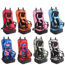 Asiento seguro para bebés portátil ajustable proteger versión actualizada espesamiento esponja cochecito accesorios niños asientos con cinturón