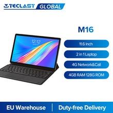 Teclast M16 11,6 pulgadas Android Tablet PC Deca Core 4GB RAM 128G ROM 4G Red 5.0MP acoplamiento tipo-C 7500mAh GPS Dual Wi-Fi