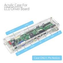 ユニバーサル透明シェルlcd制御ボードアクリル収納ボックスV29 V56 V53クローナ8503アナログ信号コントローラ