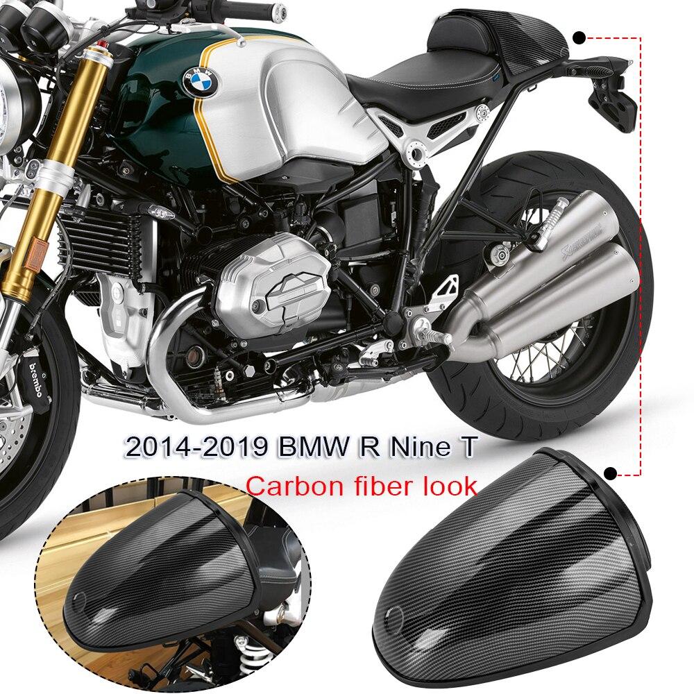 For BMW R NINE T 2014-2019  R9T R 9t R NineT RNineT Rear Seat Cowl Cover Trunk Storage Box Backrest Carbon Fiber Look 2015 2016