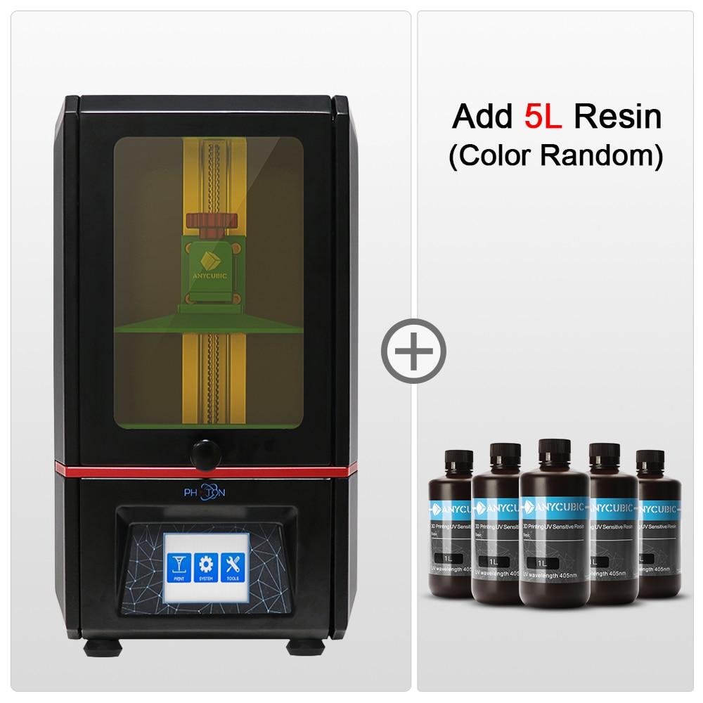 ANYCUBIC Photon SLA 3D Printer UV LCD Resin Assembled 2K Screen Plus Size Off-Line Print Impresora 3
