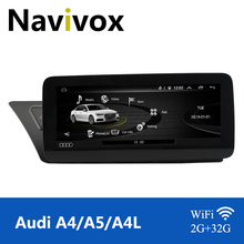 "Navivox 10.25""Android 10.0 Car Radio 2+32G for A4(B8)A5 A4L S4 S5 2009 2016 /RS4(B8) 2012  2015 Car Multimedia Player Radio"