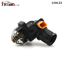 Coolant Thermostat With Seal For Peugeot 205 II 1.4 Citroen C3 Picasso 1.6 VTi Electrically Controlled