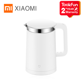 XIAOMI MIJIA Electric kettle Smart Constant Temperature Control kitchen Water samovar 1.5L Thermal Insulation teapot APP - discount item  20% OFF Kitchen Appliances