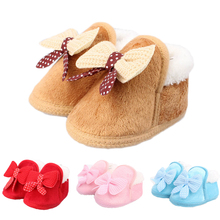 New Faux fur girls baby booties winter baby boys girls shoes winter infants warm shoes Leather boy baby boots Wholesale cheap insular COTTON ANKLE Cotton Fabric Fashion Boots Round Toe Fits true to size take your normal size Plush Flat with Slip-On
