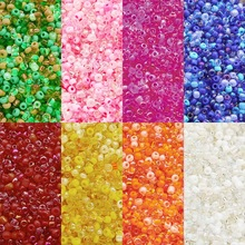 1000Pcs/Lot 3mm Round Beaded Colorful Glass Seed Spacer Beads for Women DIY Hand Woven Bracelet Earrings Jewelry Accessories