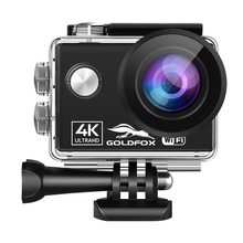 WiFi Action Camera Ultra HD 4K/60fps 16MP 2.0 LCD 170D Angle Helmet Camera 30m Go Waterproof Pro Sport Camera Video Camcorder