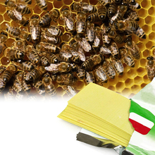 Горячая Распродажа 20 шт./пакет варроа полоски флувалинат пчелы с защитой от клеща убийца лечение инструмент Пчеловодство вредителей Управл...