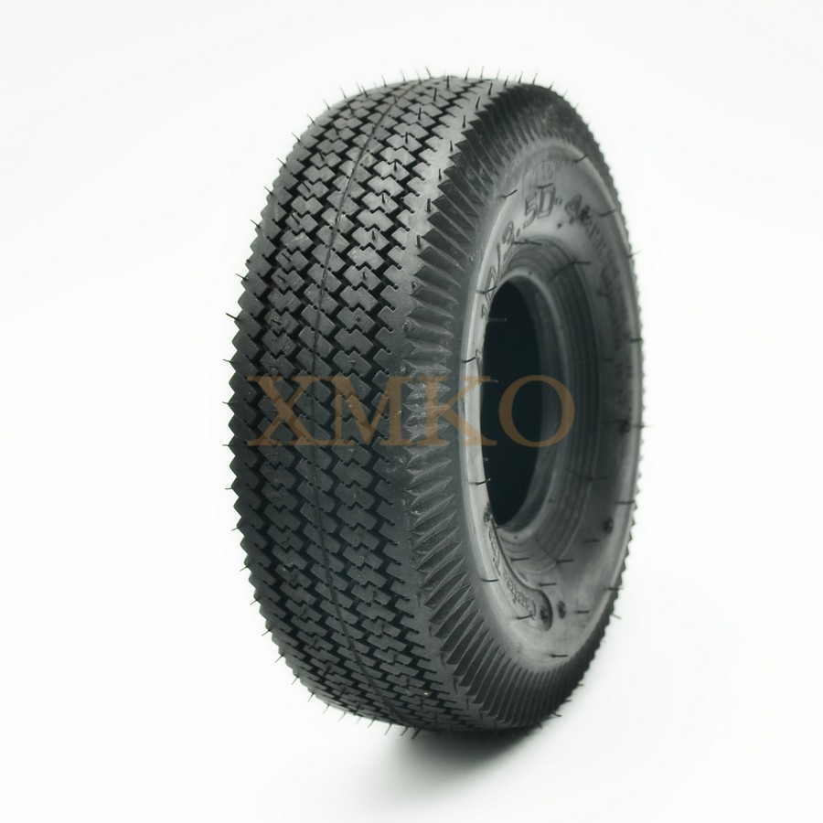 4.10/3.50-4 Inner Tube Tire 4.10-4 3.50-4  For Mower Electric Tricycle Trolley Scooter Adult Step Car Fit 3.00-4 And 260x85
