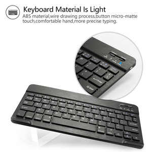 Image 2 - Bluetooth keyboard for iPad 7th Gen (2019)/All new ipad 8th Gen (2020) 10.2 inch  Detachable bluetooth keyboard protective case