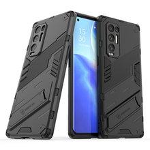 Trouver X3 Lite X 3 5G Bumper Armure Étui Punk Cool Dur Panneau Arrière pour OPPO Trouver X3 Pro FindX3 Neo Housse Antichoc pour Téléphone Par