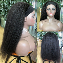 Hair Wigs 180-Density Brazilian Kinky Straight Remy Full-Machine Women KL