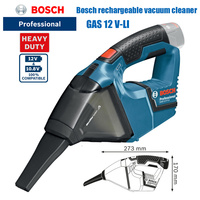Bosch GAS12V LI household small cordless car rechargeable industrial handheld vacuum cleaner