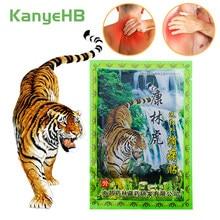 8 pçs/saco bálsamo de tigre remendo alívio da dor de gesso médico artrite corpo volta articulação cervical joelho dor corpo relaxamento gesso h029