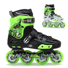 Профессиональные роуд шоу RX4 роликовые коньки четыре колеса роликовые коньки для взрослых
