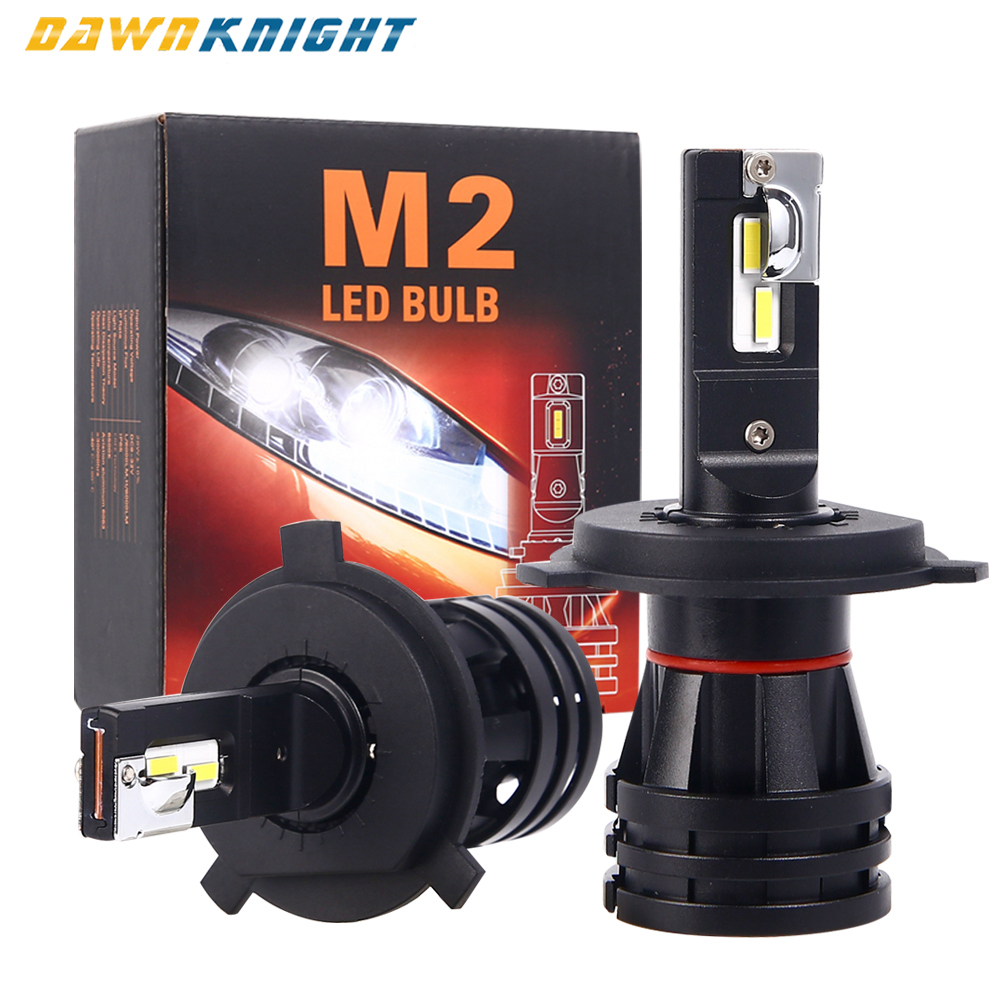 Car-Headlight Lens Led-Lamp 9012 Low-Beam Turbo Motorcycle H27 9006 Hb4 H11 M2 Led 9005 Hb3