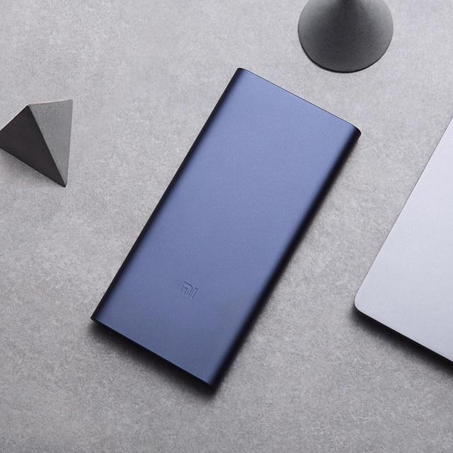 Original Xiaomi mi Power Bank 3 10000mAh USB tipo C de dos vías 18W de carga rápida batería externa cargador portátil 5