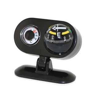 Auto Compass Thermometer 2 in