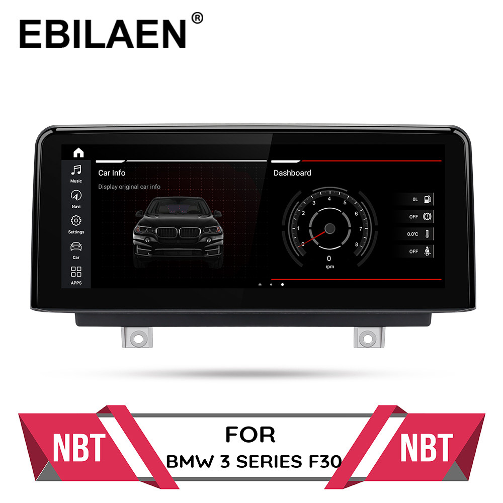 Android 10.0 Car multimedia Player for BMW F30 F20 F31 F22 F21 F32 F33 F36 Original NBT System Autoradio GPS Navigation IPS 4G(China)