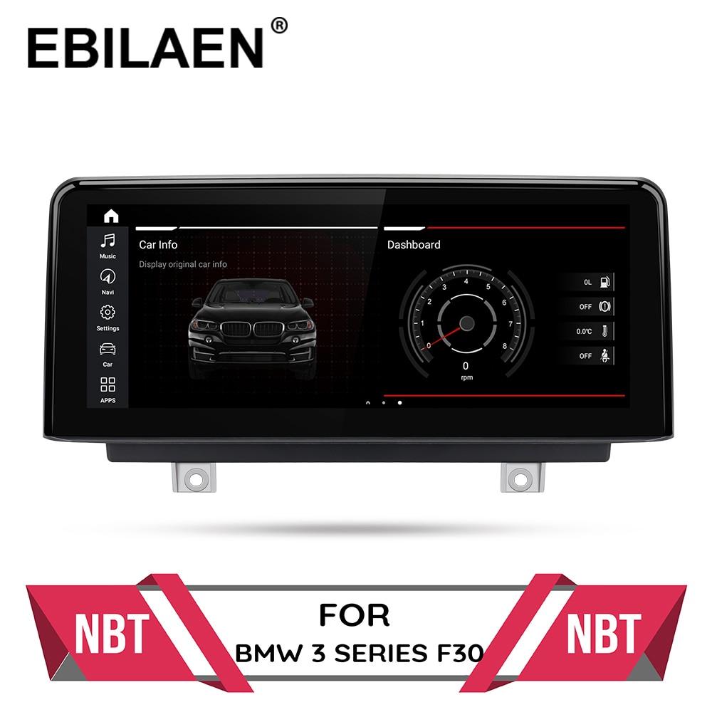 Lecteur multimédia de voiture android 10.0 pour BMW avec navigation GPS, F20, F21, F22, F31, F30, F32, F33, F36, autoradio, système NBT d'origine, IPS, 4G
