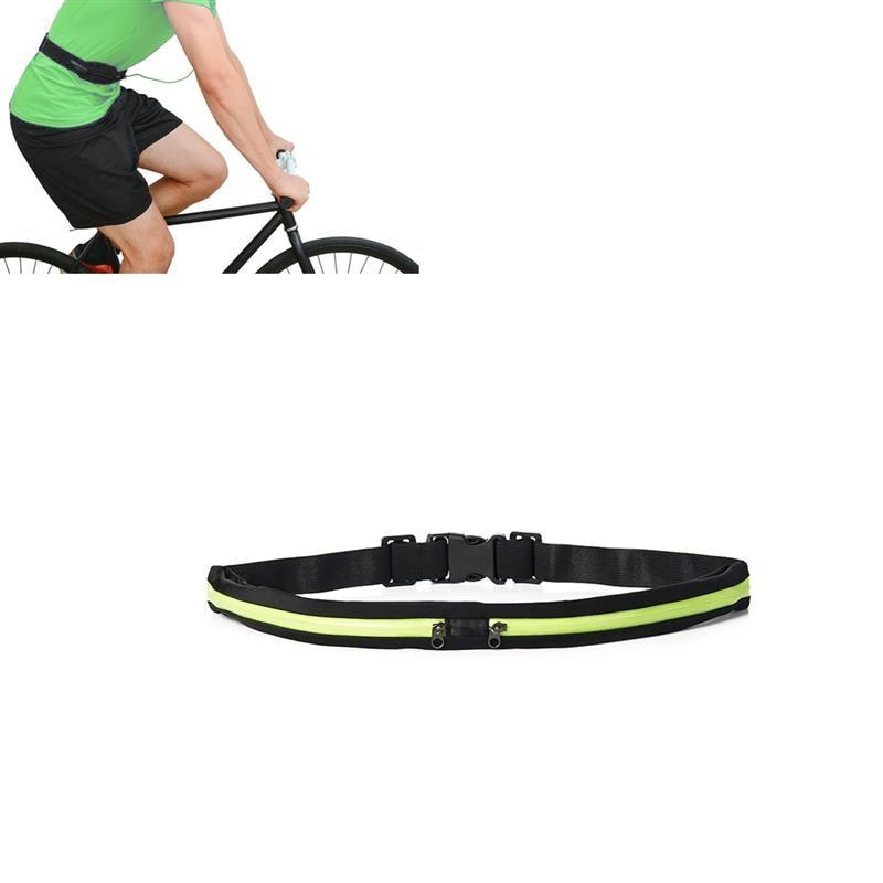 Slim Running Belt Ultra Light Bounce Free Waist Bag Pouch Fitness Workout Belt Sport Waist Pack Exercise Running Gym Cycling