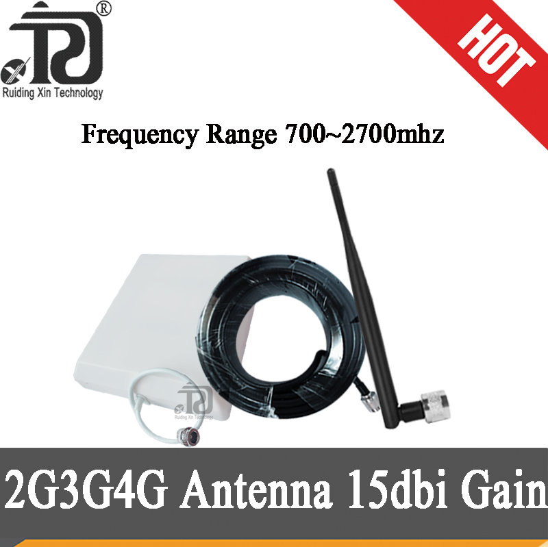 2g 3g 4g Antenna 700~2700mhz Panel Outdoor Antenna Omnidirectional Indoor Antenna Accessories For 2G 3G 4G Mobile Signal Booster