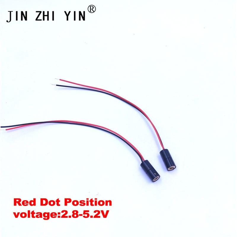 JIN ZHI YIN Laser Machine Accessories RED Dot Pointer Module Positioning For Co2 Laser Machine 3040/4040/4060