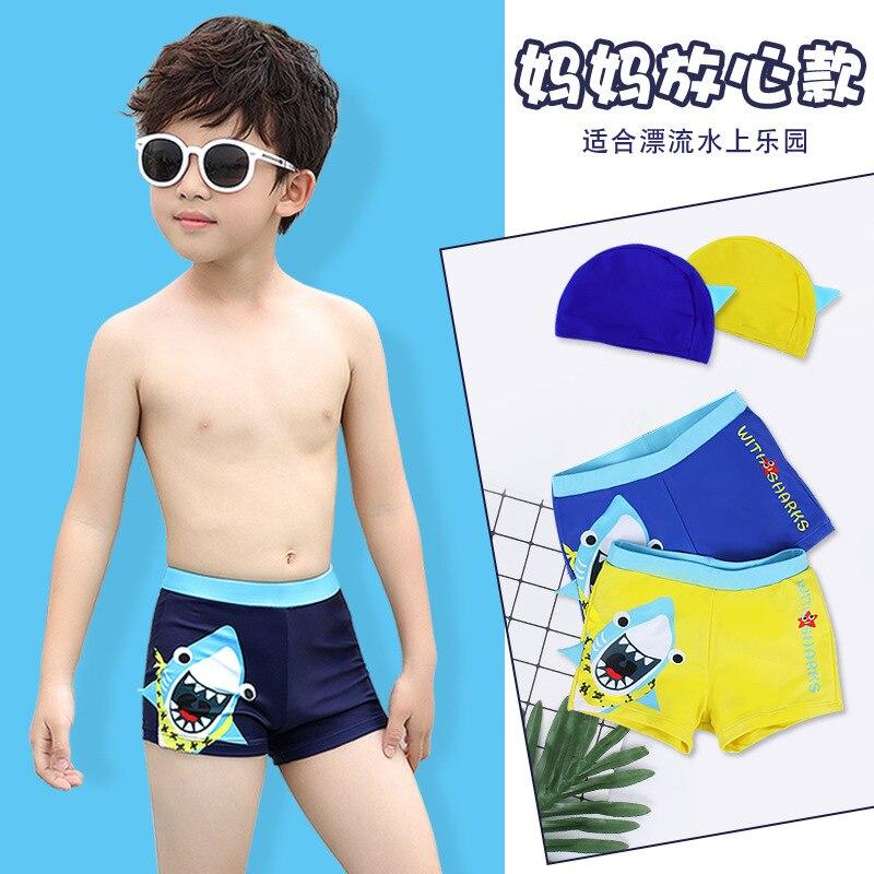 Youyou CHILDREN'S Swimming Trunks BOY'S Boxer Swimming Trunks Baby Bathing Suit BOY'S Split Type Big Boy INS KID'S Swimwear