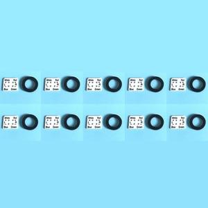 Image 1 - 10set مطاط + تركيب فيلم غطاء الرأس CN5625 ل Technics1200 1210