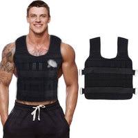 Chaleco ajustable de 30KG para entrenamiento de boxeo, equipo de entrenamiento deportivo, gimnasio, Fitness, boxeo, correr