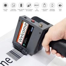 Портативный мини принтер для печати этикеток сенсорный экран