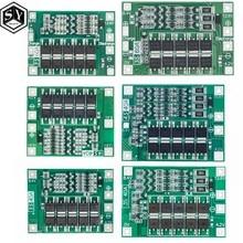 Placa de proteção de bateria de lítio 3s/4S 40a, 60a li-íon proteção de placa 18650 bms para motor de furadeira 11.1v 12.6v/14.8v 16.8v realce/equilíbrio