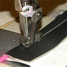 Промышленная швейная машина Синхронный привод интегрированная подача толстый материал кожа Веревка лапка 5,5 мм сталь
