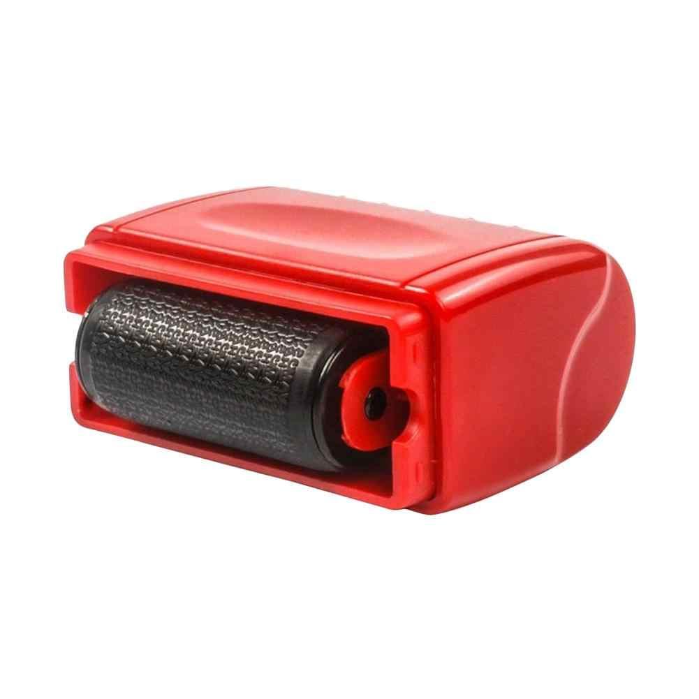 Rouleau auto-encreur Stock timbre joint vol Protection Code garde votre ID confidentialité sceau confidentiel bureau fichier timbre outil