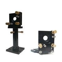 CO2 lazer kulaklık yansıtıcı ayna odak odaklanan lens entegre montaj tutucu DIY lazer oyma kesme makinası