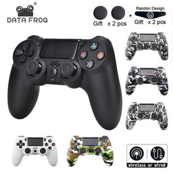 DATA FROG Wireless Bluetooth Gamepad For SONY Playstation 4 PS4 Controller Wired/Wireless Joystick For Dualshock 4 Gamepad фото