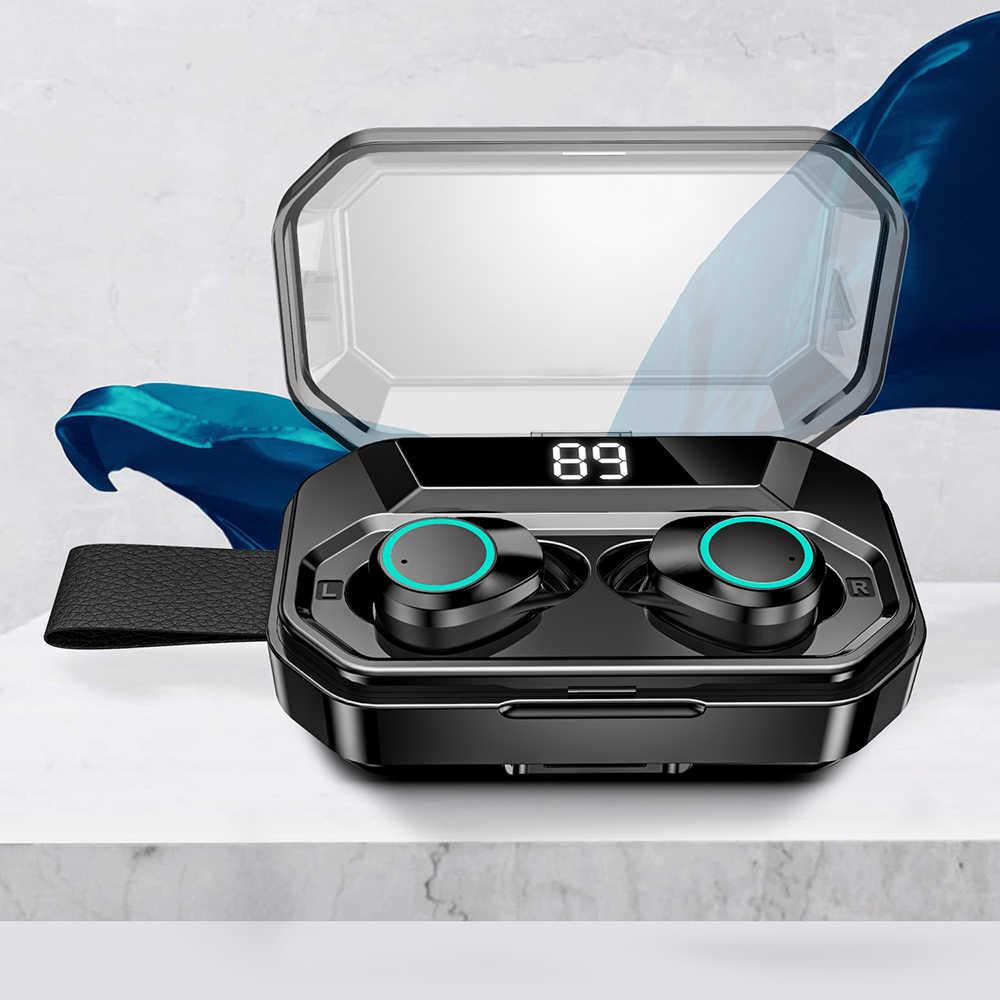 Bluetooth 5.0 Wireless Earphone Stereo Bass HIFI Sound Waterproof Earbuds Gaming Handsfree For Xiaomi Huawei Samsung