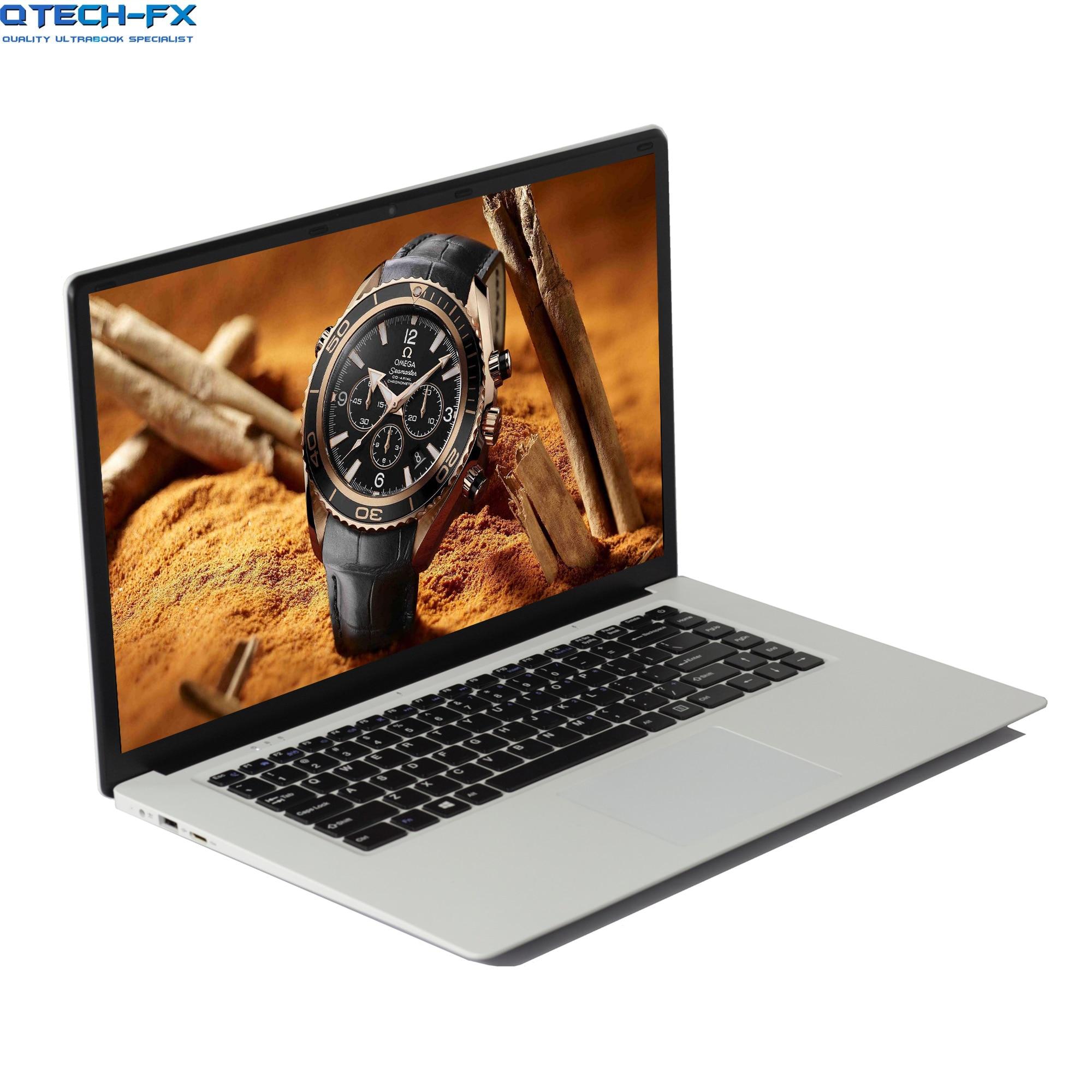 "15.6"" Ultrabook SSD 512GB /256GB /128 8GB RAM Windows 10 Laptop CPU Intel 4 Core Business Arabic AZERTY Spanish Russian Keyboard"