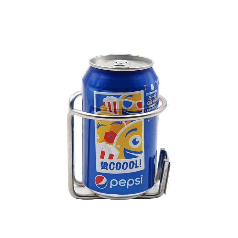 Aço inoxidável Anel Cup Bebida Titular Fit