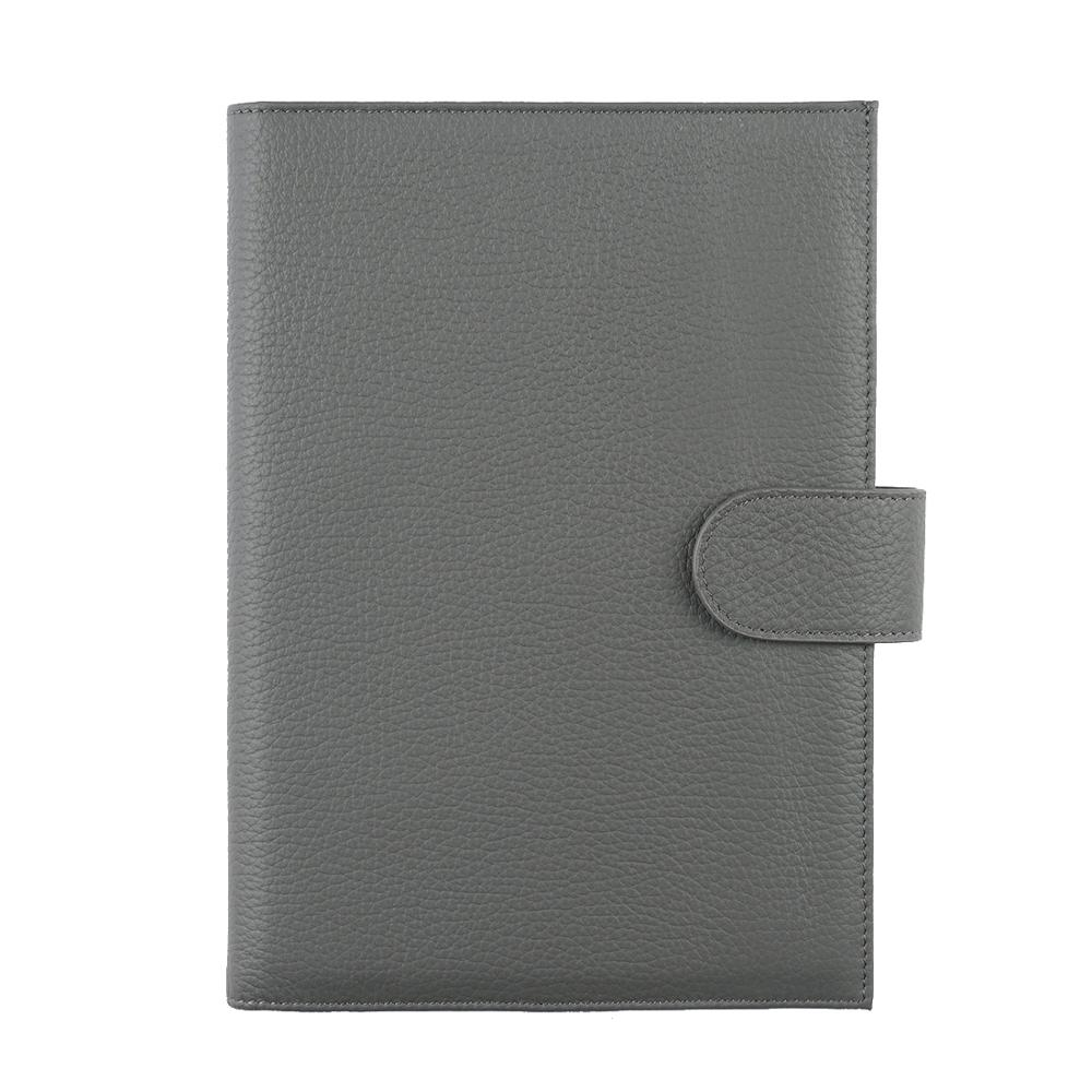 New Arrivals Genuine Leather A6 notebook Diary planner journal Stationery small notepad Agenda Organizer Big Pocket-in Notebooks from Office & School Supplies