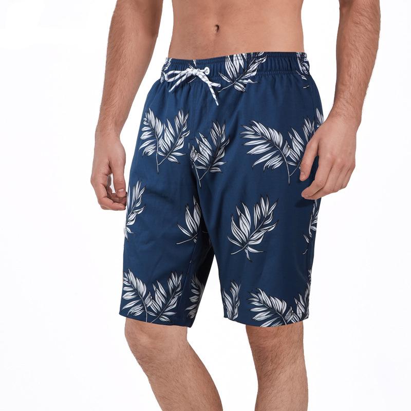 Hot Sale Mens Waterproof Swimwear Quick Drying Stretchy Sports Plus Size Shorts
