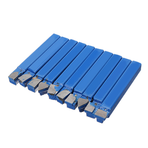 10pcs Blue Carbide Lathe Tool