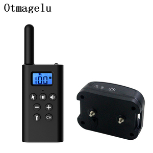 Image 1 - 300m Electric Dog Training Collar Rechargeable Pet Remote Control with LCD Display for Shock Vibration Sound Anti barking Device