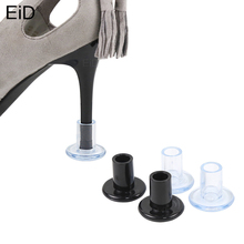 2pcs Pvc High Heel Protectors Anti-slip Heel Stoppers Cover for Latin Stiletto Wholesale Dropshipping Women Shoe Care Tool Pads