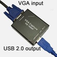 Адаптеры VGA-to-USB 1080P с картой видеозахвата для проектора, запись видео, запись записи, поддержка OBS, potplayer,