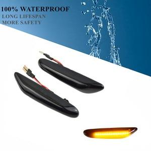 Динамический мигалка светодиодный светильник боковой маркер для BMW E60 E61 E90 E91 E87 E81 E83 E84 E88 E92 E93 E82 E46 1 3 5 серии x1 x3